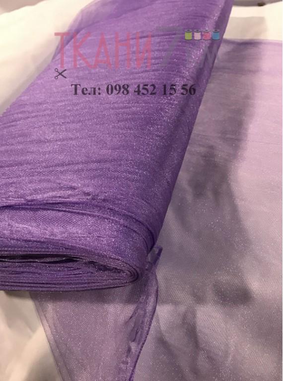 Фатин с блеском средней жесткости, ширина 1,5 м № 1