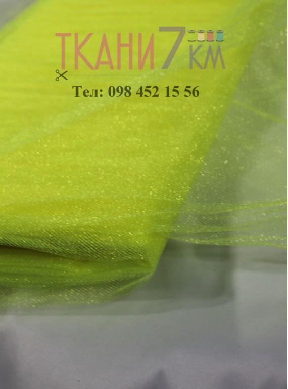 Фатин с блеском средней жесткости, ширина 1,5 м № 12