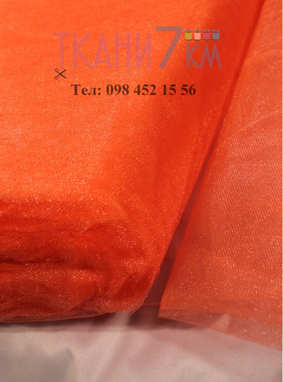 Фатин с блеском средней жесткости, ширина 1,5 м № 8