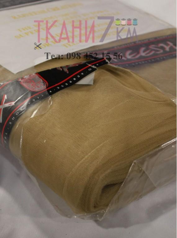 Ткань фатин скользковатый, ширина 1.3 м № 14