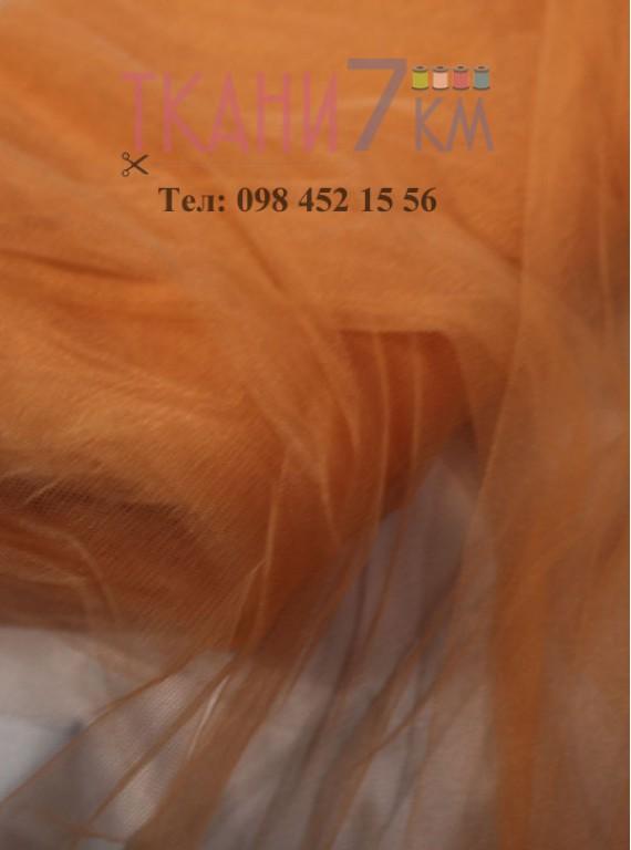 Ткань фатин скользковатый, ширина 1.3 м № 28