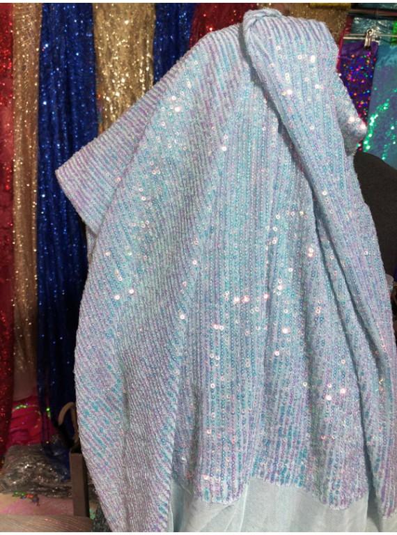 Пайетка на вечерние платья, ширина 1,3 м №2