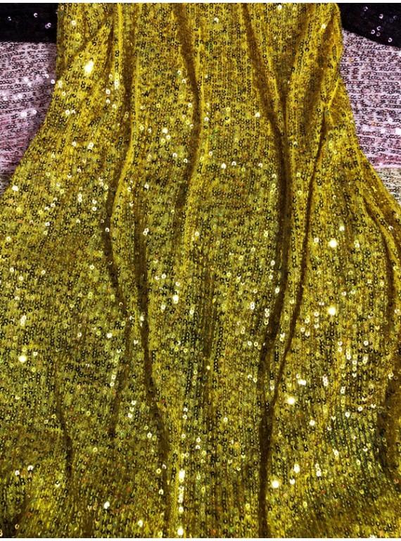 Пайетка на вечерние платья, ширина 1,3 м №7