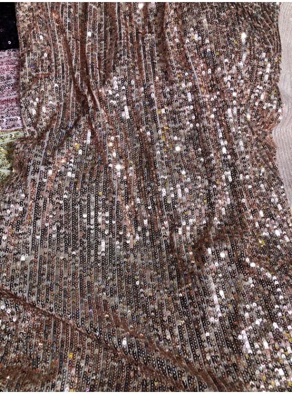 Пайетка на вечерние платья, ширина 1,3 м №8