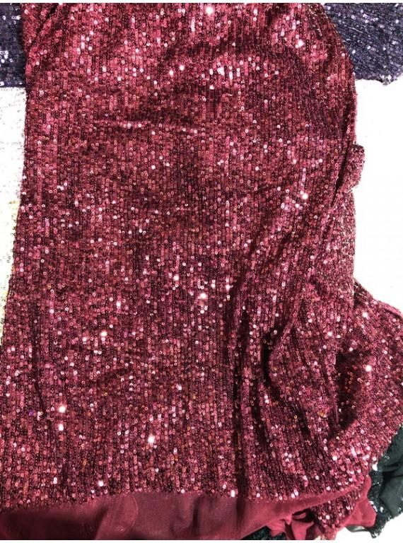Пайетка на вечерние платья, ширина 1,3 м №9