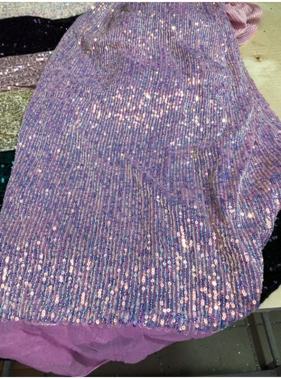 Пайетка на вечерние платья, ширина 1,3 м №16