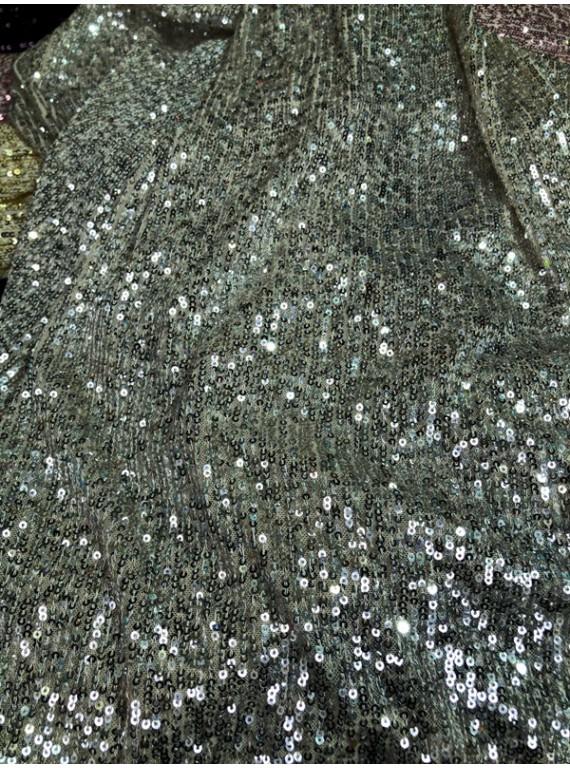 Пайетка на вечерние платья, ширина 1,3 м №17