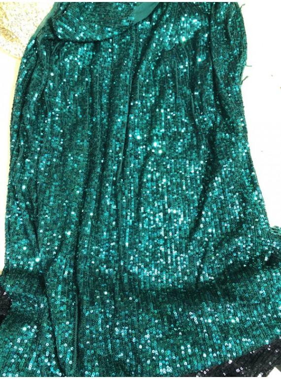 Пайетка на вечерние платья, ширина 1,3 м №14