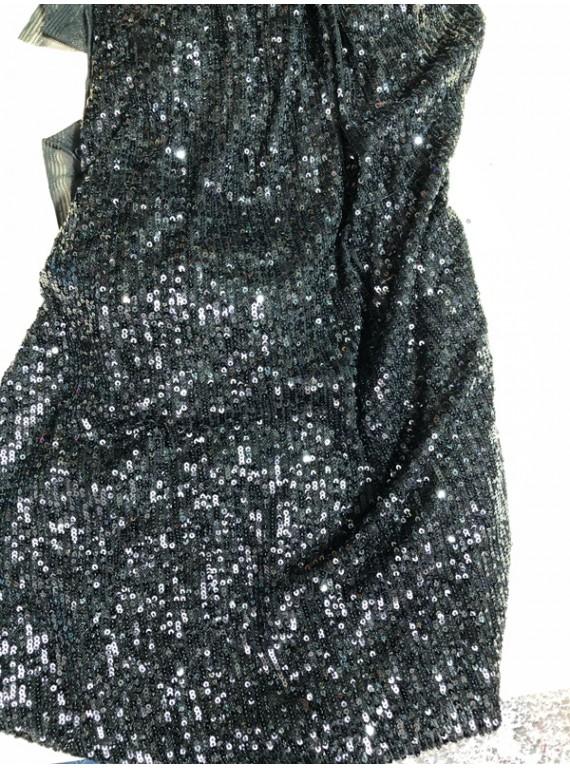 Пайетка на вечерние платья, ширина 1,3 м №15