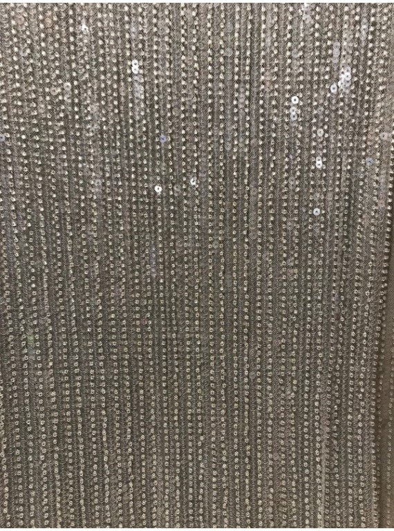 Пайетка с бисером на сетке, ширина 1.5 №2