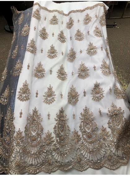Ткань на вечерние и выпускные платья, дизайн 3, №2