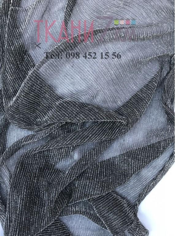 Cетка гофре с люриксом, ширина 1.4 м №3