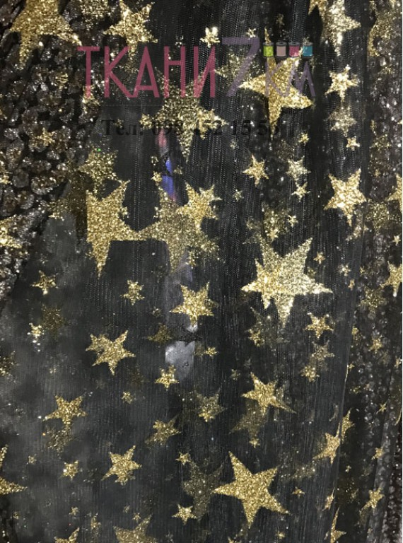 Звезды с напылением, ширина 1.4 №1