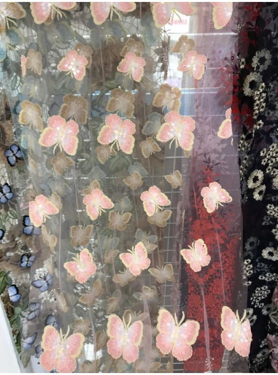 Бабочки на Сетке, ширина 1.4 №4
