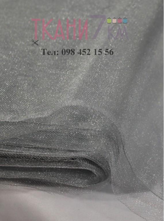 Фатин с блеском средней жесткости, ширина 1,5 м № 4