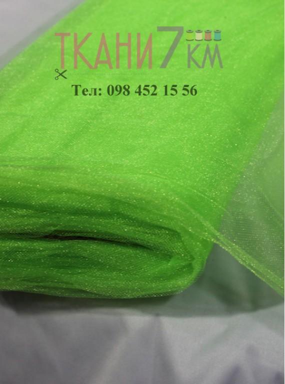 Фатин с блеском средней жесткости, ширина 1,5 м № 9