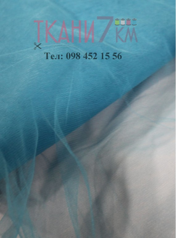 Ткань фатин скользковатый, ширина 1.3 м № 32