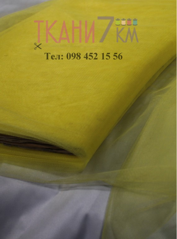 Ткань фатин скользковатый, ширина 1.3 м № 34
