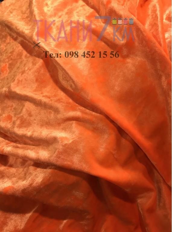 Ткань мраморный велюр, ширина 1,5 м №10