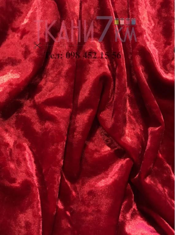 Ткань мраморный велюр, ширина 1,5 м №3