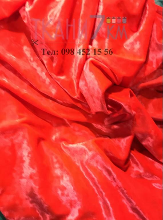 Ткань мраморный велюр, ширина 1,5 м №5