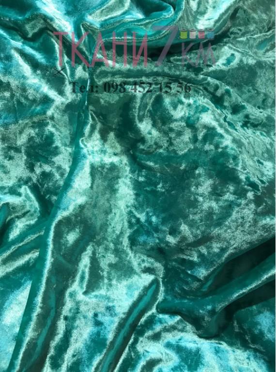 Ткань мраморный велюр, ширина 1,5 м №6