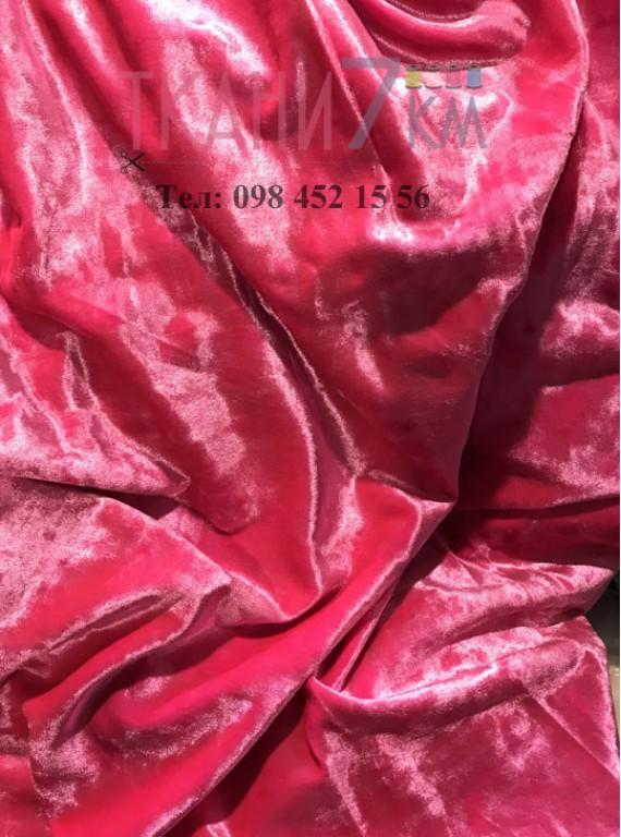 Ткань мраморный велюр, ширина 1,5 м №7
